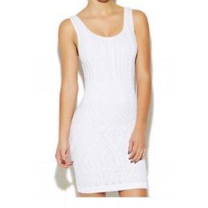 Arden B Dresses - Arden B White Bandage Dress